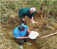 تطهير شبكات الصرف الصحي بالاسماعيلية