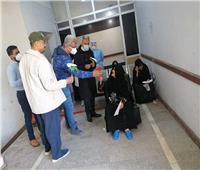 تعافي وخروج 46 مصابا بكورونا في الغربية