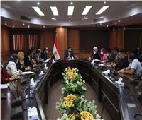 صبحى : التنسيق لعقد مؤتمر حواري للشباب الفترة المقبلة