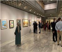 سفير أذربيجان ورئيس الأوبرا يفتتحان معرض للوحات الفنية