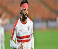 محمود علاء يتعرض لحادث تصادم أمام نادي الزمالك