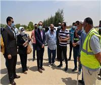 نائب المحافظ يتفقد تطوير قرى مبادرة «حياة كريمة» بالقنطرة شرق