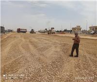 إزالة ٩ أكشاك مخالفة بالطريق الصحراوي بطوخ الخيل خلال حملة مكبرة بالمنيا