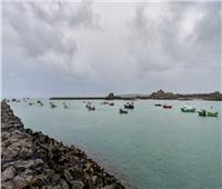 احتجاج 50 قارب صيد فرنسيا عند ميناء جيرسي البريطاني