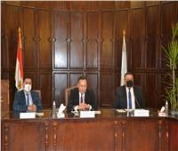 جامعة الإسكندرية تناقش التحول الرقمي مع وفد الأعلى للجامعات