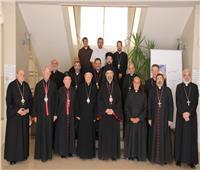 عقد اجتماع مجلس أساقفة الكاثوليك بالمعادي
