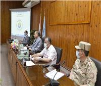 محافظ أسيوط: حملات ميدانية مكثفة لمتابعة تنفيذ الإجراءات الوقائية لكورونا