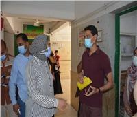 في زيارة مفاجئة.. نائب محافظ الوادي الجديد تتفقد مستشفى الخارجة العام