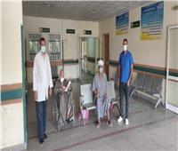 ارتفاع حالات التعافي من كورونا لـ309 شخص بمستشفى قفط بقنا