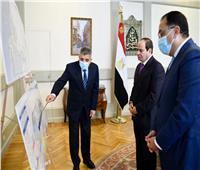 الرئيس السيسي يتابع مشروعات تطوير قناة السويس ومستجدات تحقيقات «إيفرجرين»