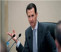 الأسد يتلقى رسالة من رئيس الوزراء العراقي تتعلق بالتعاون لمكافحة الإرهاب