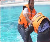 مروان محسن يضرب رامز جلال بقوة بعد مقلب «رامز عقله طار»