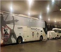 حافلة الزمالك تصل لاستاد القاهرة لمواجهة سموحة
