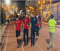 الأهلي يصل إلى استاد الإسكندرية استعدادًا لمباراة الاتحاد
