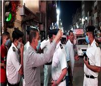 صور   حملات مكثفة لغلق المحال والمقاهي قبل التاسعة في قنا