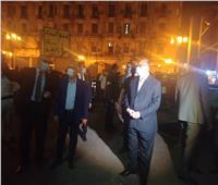 محافظ القاهرة يتابع إغلاق المحلات في مدينة نصر