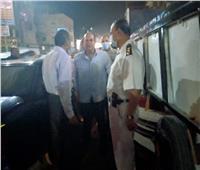 نائب محافظ الجيزة يتابع غلق المحال في الحوامدية| صور