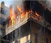 إخماد حريق بمنزل في العدوة بالمنيا