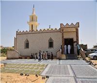 محافظ مطروح يفتتح مسجد «عمرو بن العاص» بمدينة الحمام