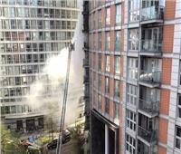 أكثر من 100 رجل إطفاء يحاولون السيطرة على حريق في مبنى سكني بلندن