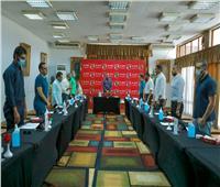 مجلس إدارة الأهلي يقف دقيقة حداد على روح الدكتور« باجنيد»