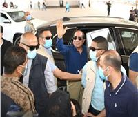 خلال جولته بشرق القاهرة.. الرئيس يستمع لعدد من المواطنين ويهنأهم بشهر رمضان| صور