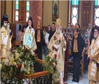 البابا ثيودروس يرأس قداس عيد القديس جيورجيوس