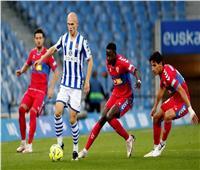 ريال سوسييداد يقتنص فوزًا ثمينًا أمام إلتشي في «الليجا الإسبانية»