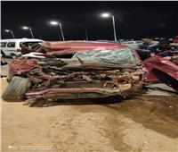 إصابة سائق سيارة ملاكي فى حادث تصادم بالعاشر من رمضان