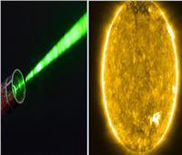 ابتكار ليزر يركز ضوء الشمس في نقطة واحدة