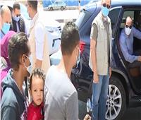 جبر الخواطر.. هدية من الرئيس السيسي لعامل «الديلفري» | فيديو