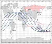 فيديو لايف| وكالة فضاء تحدد موقع وموعد سقوط حطام الصاروخ التائه