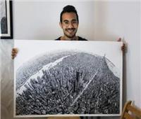 حكايات| «إنك بأعيننا».. لوحات فنية لمسلمين وأقباط دفاعا عن النبي محمد