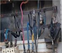 حريقان في محول ولوحة كهرباء بالمنيا