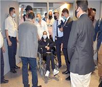 الأم الأمريكية تحقق حلمها.. و«التنسيقية» تستقبلها بمطار القاهرة