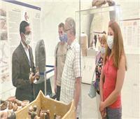 السفراء الأجانب بالقاهرة يشيدون بمتحف الحضارة بالفسطاط