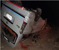 إصابة 20 بينهم أطفال.. ننشر الصور الأولى لحادث الطريق الصحراوي قنا - سوهاج