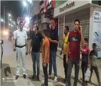 حملات مكبرة بالقصاصين والمحسمة لمتابعة قرار غلق المحلات بالإسماعيلية