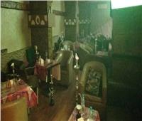 ضبط «40 شيشة» في حملة لمتابعة غلق المحلات بالإسماعيلية