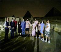 تنسيقية شباب الأحزاب ترافق ضيوف مصر في «الصوت الضوء»
