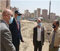 محافظ القليوبية يتفقد المشروع القومي «سكن لكل المصرين» بحي شرق شبرا الخيمة