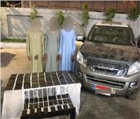 القبض على 3 تجار مخدرات بـ165 طربة حشيش في سوهاج