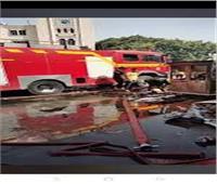 النيابة: خسائر حريق موقف أحمد حلمي بلغت ٥ مليون جنيه