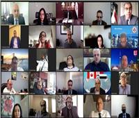 سفارة مصر في أوتاوا تنظم الملتقى الأول لتجمعات الجالية المصرية في كندا
