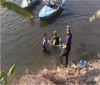 انتشال جثة عامل من مياه ترعة البوهية بالدقهلية