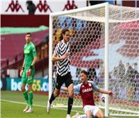 مانشستر يونايتد يفوز بثلاثية على أستون فيلا | فيديو