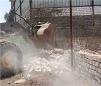 إزالة 21 حالة تعدي على الأراضي الزراعية بكفر الزيات