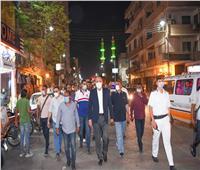 محافظ قنا يناشد المواطنين الالتزام بالإجراءات الاحترازية وقرارات الغلق