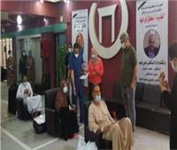 خروج 11 مصابا بكورونا من مستشفى قنا العام بعد تعافيهم