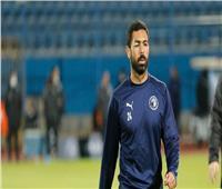 إصابة قوية لأحمد فتحي في مباراة بيراميدز وسيراميكا
